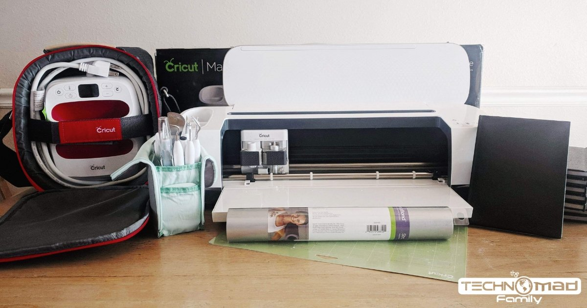 How to use Cricut Iron-on to make Custom Travel Journals - The