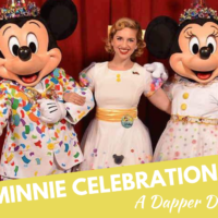 Minnie Celebration Dress, a Dapper Disneybound!