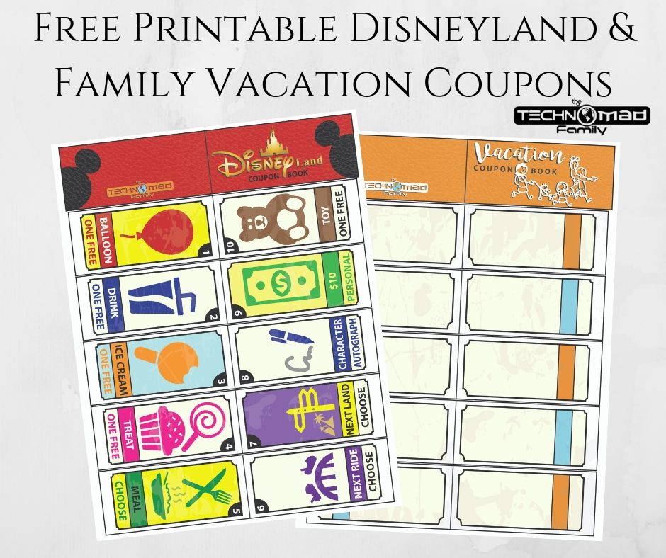photograph regarding Disneyland Printable Coupons named Totally free Printable Disneyland Household Family vacation Discount codes - The